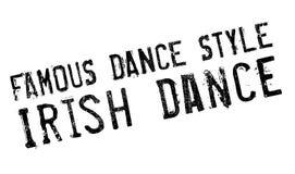 Estilo famoso de la danza, sello de la danza del irlandés libre illustration