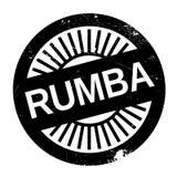Estilo famoso de la danza, sello de la rumba stock de ilustración