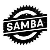 Estilo famoso de la danza, sello de la samba ilustración del vector