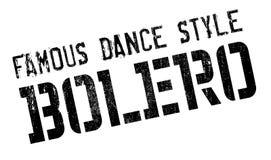 Estilo famoso de la danza, sello del bolero libre illustration