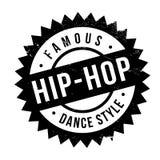 Estilo famoso de la danza, sello del hip-hop Fotos de archivo