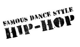 Estilo famoso de la danza, sello del hip-hop Imagen de archivo libre de regalías