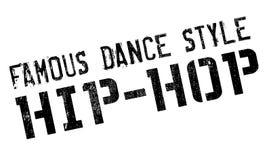 Estilo famoso de la danza, sello del hip-hop Foto de archivo