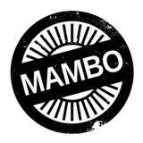 Estilo famoso de la danza, sello del mambo ilustración del vector