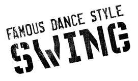 Estilo famoso de la danza, sello del oscilación libre illustration