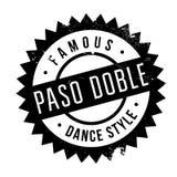 Estilo famoso de la danza, sello del paso doble ilustración del vector