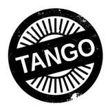Estilo famoso de la danza, sello del tango stock de ilustración