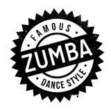 Estilo famoso de la danza, sello del zumba libre illustration