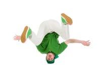 Estilo fresco dancer.breakdance del salto de la cadera fotografía de archivo libre de regalías