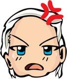 Estilo fresco do emoticon Foto de Stock Royalty Free