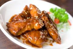 Estilo fritado carne do Cantonese Foto de Stock
