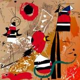 Estilo imaginário da arte moderna da arte finala Imagens de Stock Royalty Free