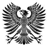 Estilo imperial Eagle Emblem Imagen de archivo libre de regalías