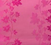 Estilo inconsútil floral del vintage del fondo de la tela del rosa del modelo del cordón retro Imágenes de archivo libres de regalías