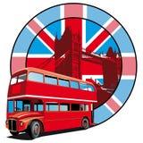 Estilo inglês ilustração royalty free