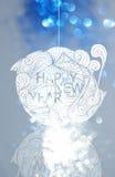 Estilo japonés de la Feliz Año Nuevo y estilo chino Fotografía de archivo libre de regalías