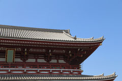 Estilo japonés del tejado Imagen de archivo