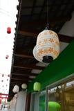 Estilo japonês da lâmpada Imagens de Stock Royalty Free