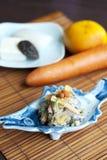 Estilo japonês do Tofu da salada Foto de Stock Royalty Free