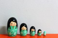 Estilo japonês prolífico da boneca Imagem de Stock