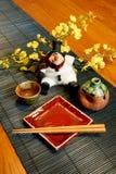 Estilo japonês de Papai Noel Fotografia de Stock Royalty Free