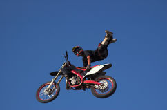 Estilo libre 12 de Moto X Fotos de archivo libres de regalías