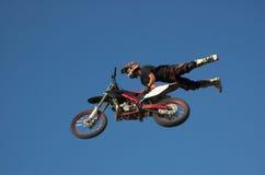 Estilo libre 13 de Moto X Foto de archivo