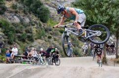 Estilo libre BMX Foto de archivo libre de regalías