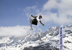Estilo libre del esquí Imágenes de archivo libres de regalías