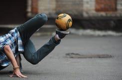 Estilo libre del fútbol Imagenes de archivo