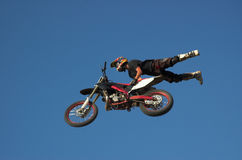 Estilo livre 13 de Moto X Foto de Stock