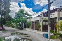 Estilo local de la casa urbana Imagenes de archivo