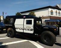 Estilo militar HV-1 Hummer, Rutherford Police Emergency Vehicle Imagem de Stock