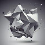 Estilo moderno da tecnologia digital, CCB cybernetic incomum abstrato ilustração royalty free