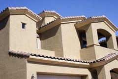 Estilo moderno de Arizona del hogar del desván Imagen de archivo libre de regalías