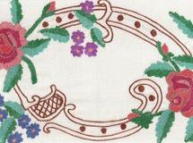 Estilo nacional del bordado. stock de ilustración