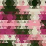 Estilo polivin?lico bajo triangular geom?trico multicolor Fondo de la pendiente libre illustration