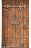 Estilo retro da porta antiga processado Fotografia de Stock Royalty Free