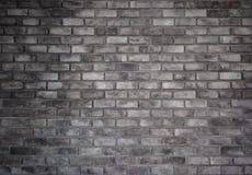 Estilo retro de la pared gris del ladrillo viejo foto de archivo