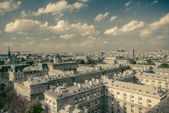 Estilo retro de París Fotos de archivo