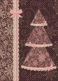 Estilo retro do encanto do cartão 1. do feriado Fotografia de Stock