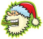 Estilo retro Santa dos desenhos animados Foto de Stock