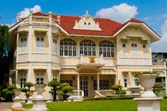 Estilo romano da casa em Tailândia Imagem de Stock