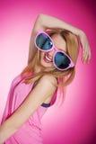 Estilo rosado Imagen de archivo libre de regalías