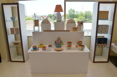 Estilo tailandés de la decoración de los muebles Fotos de archivo libres de regalías