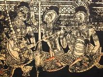 Estilo tailandés de la pintura de la vendimia Imagen de archivo libre de regalías