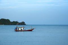 Estilo tailandés del barco de pesca Imagen de archivo