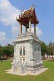 Estilo tailandés del campanario de una iglesia Fotos de archivo libres de regalías