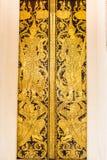 Estilo tailandés del modelo del ángel y del arte viejo Foto de archivo
