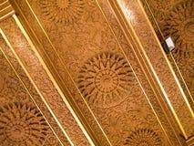 Estilo tailandés en el techo del ` s del templo Imagen de archivo libre de regalías